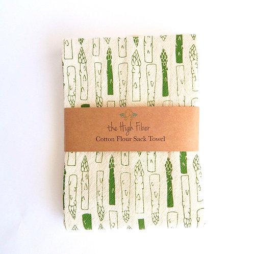 Asparagus Tea Towel