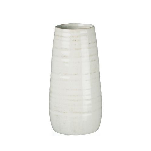 Tall White Cylinder Vase