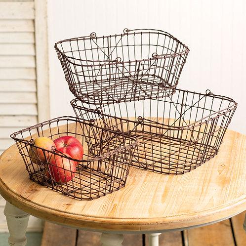 Matilda Wire Baskets - 3 sizes
