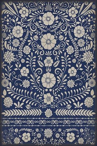 Vintage Vinyl Floorcloth - Pattern 36 Dickinson - 20x30