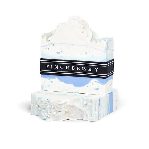 FinchBerry Soap Bar Slice Pine Fraser Fir Blue Wonderland