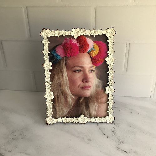 Floral Photo Frame - Large