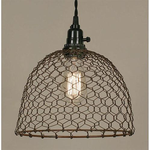 Chicken Wire Pendant Lamp