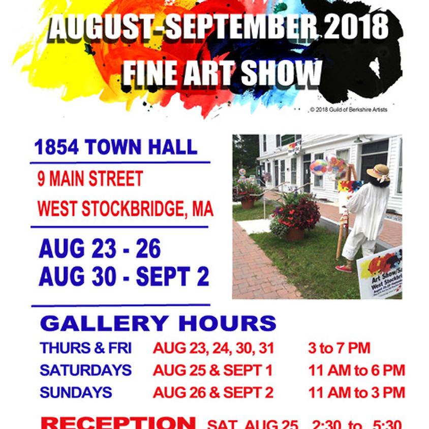 Guild of Berkshire Artists Annual Fine Art Show