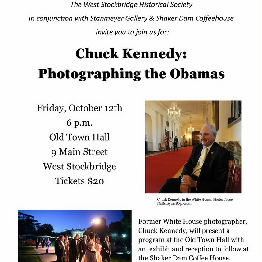 Chuck Kennedy: Photographing the Obamas