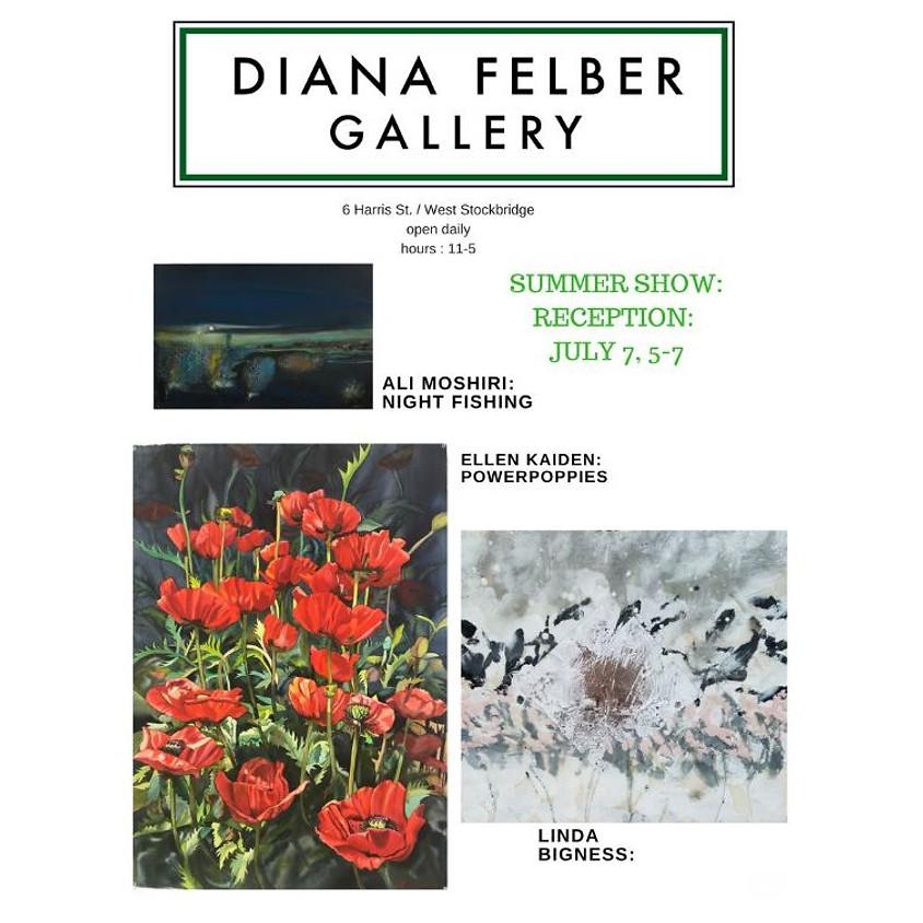 Diana Felber Summer Show Opening Reception