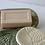 Thumbnail: Lace Imprint Stoneware Soap Dish