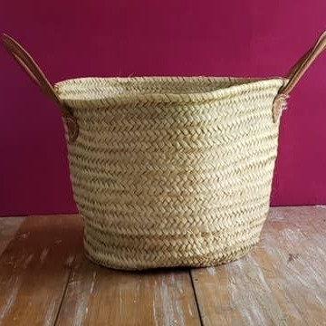 Small Round Laundry Basket