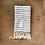 Thumbnail: Turkish Hand Towel Grey Stripe Set/2