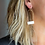 Thumbnail: Birdcage Earrings - Porcelain Clay