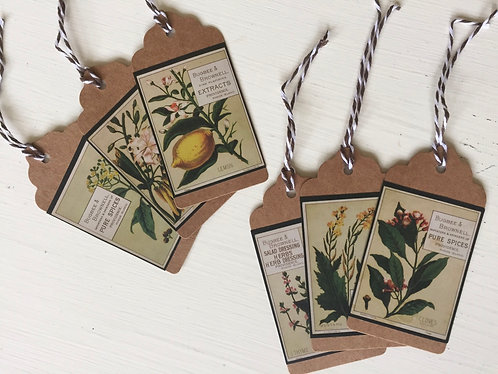 Extracts Gift Tags