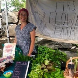 WS Farmers Market First Flower Farm