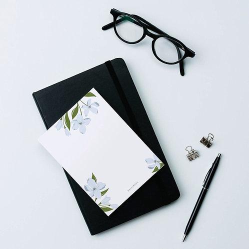 Dogwood Florals Notepad