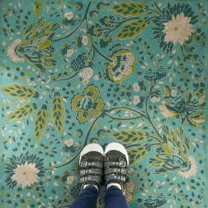 Vintage Vinyl Floorcloth - Williamsburg Collection