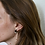 Thumbnail: Mali Tortoise Earrings in Coco Cream