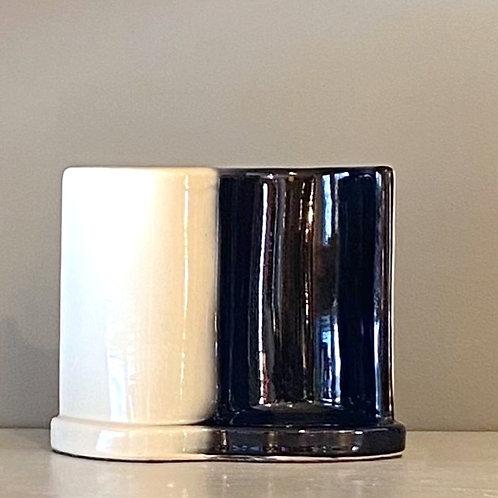 Vintage Ceramic TV Lamp