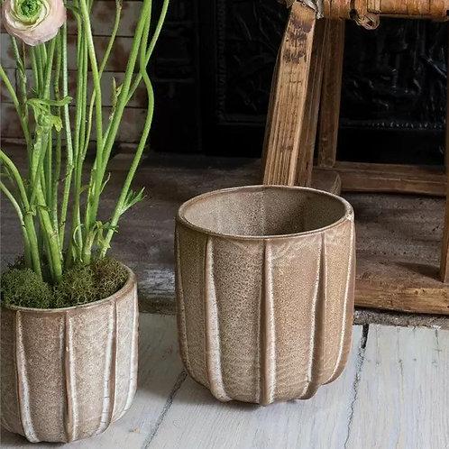 Ridgely Ceramic Pot (2 sizes)