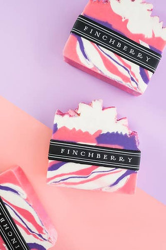 FinchBerry Soap Bar Slice Pixie Purple Pink