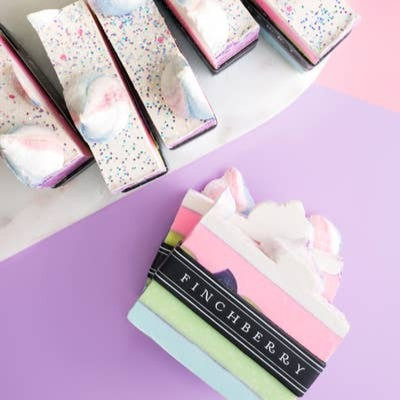FinchBerry Soap Bar Slice Darling Pink