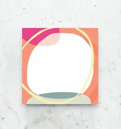 Concentric Circles Notepad