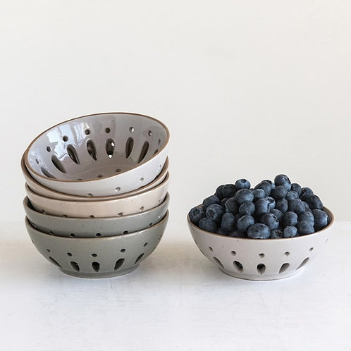 Stoneware Berry Bowl
