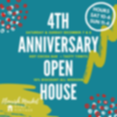 Flourish Market Anniversary Open House (