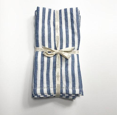 Linen Napkin Set/4 - Stripe