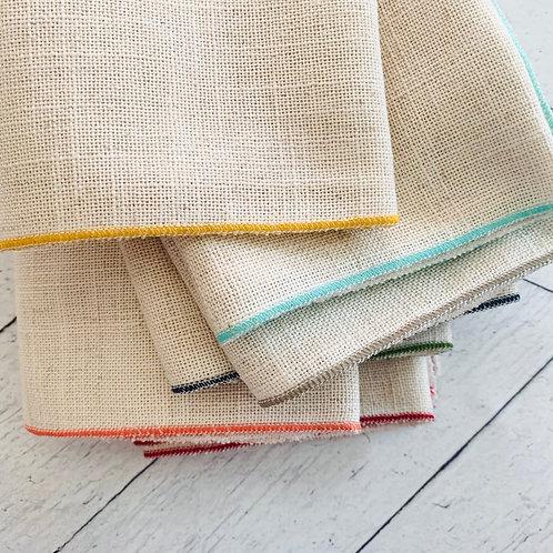 Oatmeal Linen Napkin Set/10