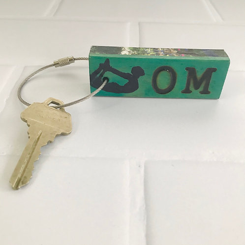 Block Party Key Ring