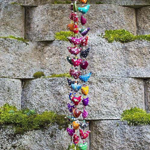 Short Multi Colored Prosperity Bird Tota
