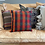 Thumbnail: Plaid Brights Kilim Pillow 16x16