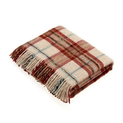 Lambswool Throw National Trust - Multiple Colors