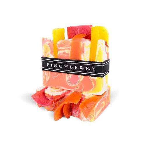 FinchBerry Soap Bar Slice Orange Lemon Pink Yellow