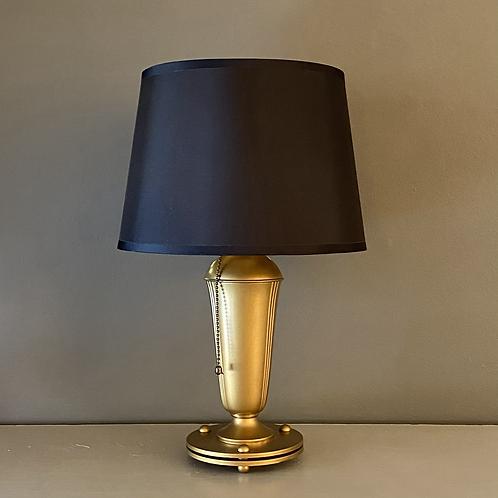 Vintage Brass Deco Lamp