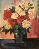 Vintage Floral Oil Painting