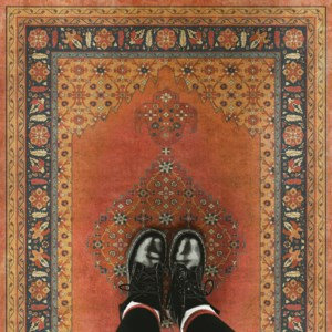 Vintage Vinyl Floorcloth - Persian Bazaar Collection