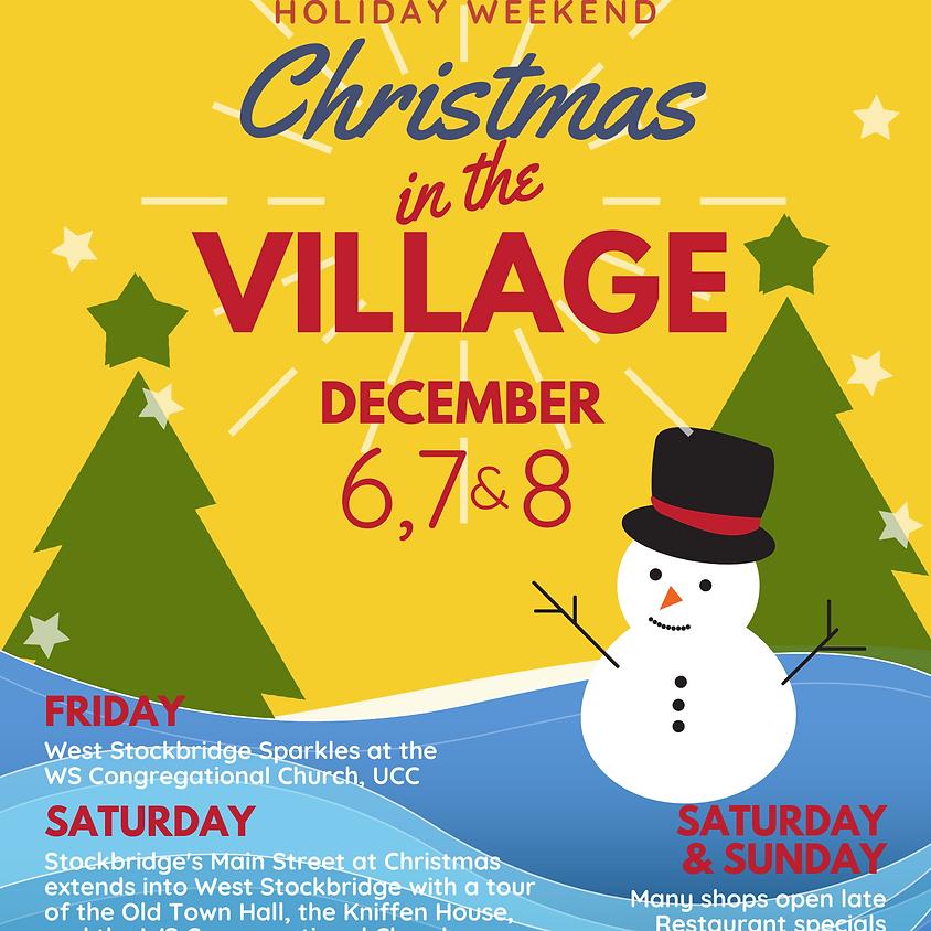 Christmas in the Village of West Stockbridge!