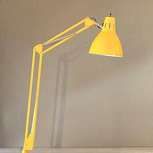 Vintage Yellow Task Lamp