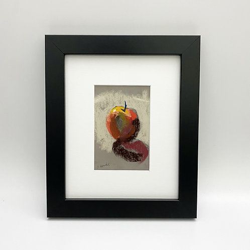 """10 Stroke Apple"" by Sally Lebwohl"