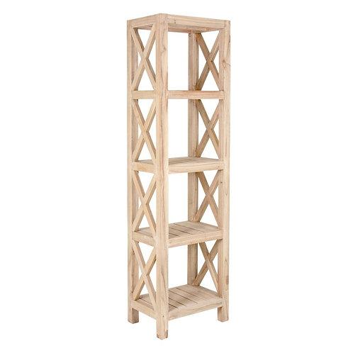 Promenade Tall Thin Bookcase