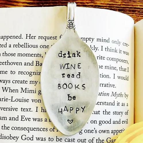 Drink Wine Bookmark
