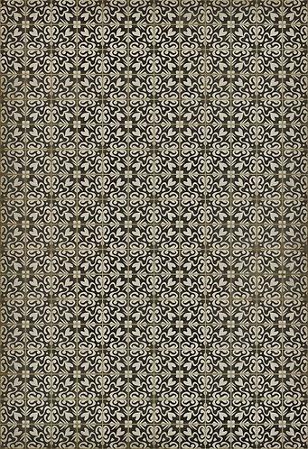 Vintage Vinyl Floorcloth - Pattern 56 Mr Gardiner - 52x76