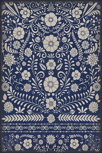 Vintage Vinyl Floorcloth - Pattern 36 - Dickinson - 20x30