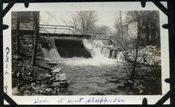 1910 Shaker Mill Dam