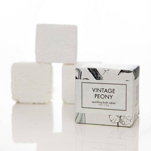 Formulary 55 Vintage Peony Sparkling Bath Tablet