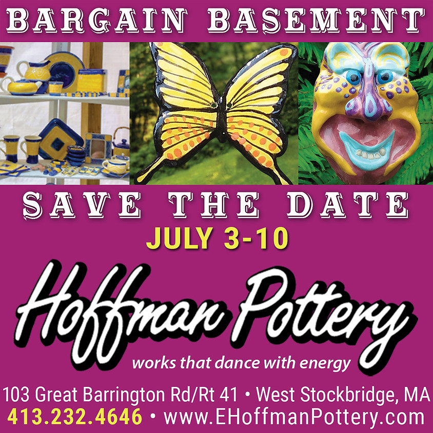 Hoffman Pottery SALE