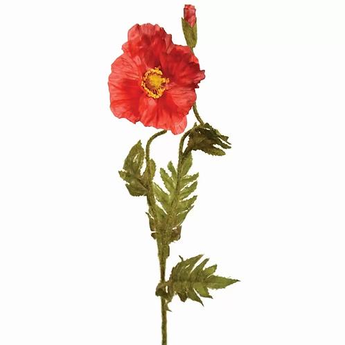 Poppy Stem - Red