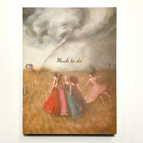 Janet Hill Studio Note Cards - Much To Do
