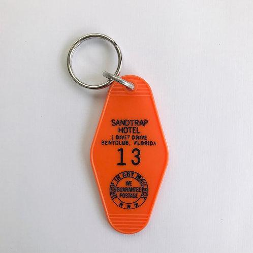 Motel Room Key Ring