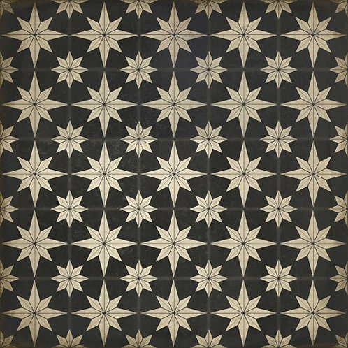 Vintage Vinyl Floorcloth 20 Vesper - 36x36
